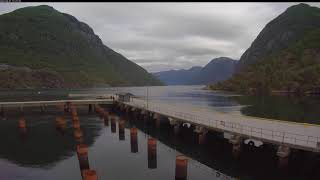 Preview of stream Geirangerfjord cruise port in Hellesylt, Norway