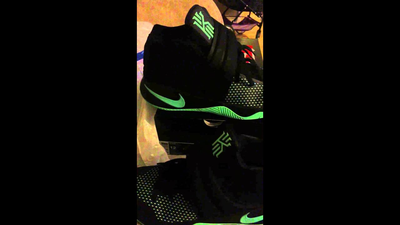 853d68356266 Kyrie 2 green glow - YouTube