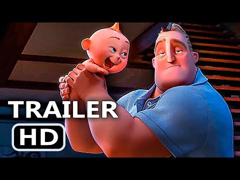 Incredibles 2 Official Full online (Pixar 2018 Animated Film) en streaming