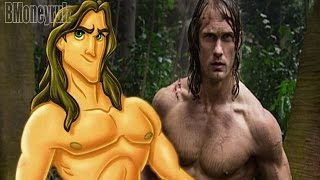 'The Legend Of Tarzan' (2016) Mash-Up Trailer Parody
