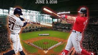 Boston Red Sox vs Houston Astros Highlights || June 3, 2018