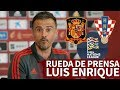 España - Croacia | Rueda de prensa de Luis Enrique previa a la UEFA Nations League | Diario AS