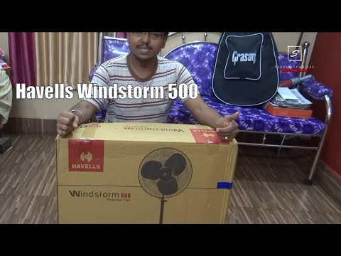 Havells Windstorm 500mm Farrata Padestral fan | Farrata vs nomal cooler fan  | Should you buy?[Hindi]