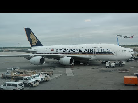 Singapore Airlines A380-800 First Class JFK-FRA, Round the World 5-2