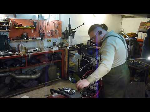 работа по ремонту сузуки бандит 250