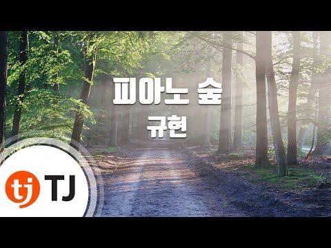 [TJ노래방] 피아노숲 - 규현 (Piano Forest - KYUHYUN) / TJ Karaoke