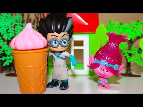 Видео, Мультики про игрушки Щенячий патруль и Троли Мороженое Розочки Мультфильмы для детей