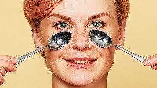 Usa un Cucchiaino Ghiacciato per Liberarti delle Occhiaie e delle Borse in un Giorno