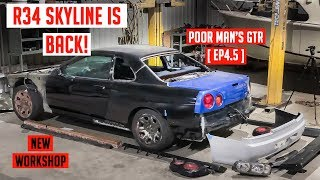 The R34 Skyline is BACK | Poor Man's GTR [EP4.5]