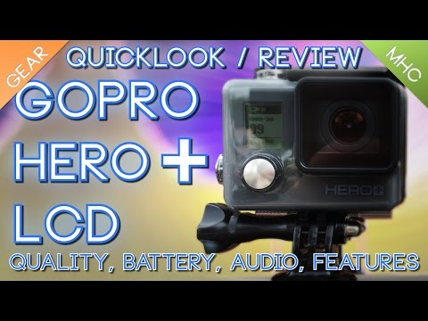 GoPro Hero+ Quicklook/Review LCD, Wifi, and Side by Side with GoPro Hero