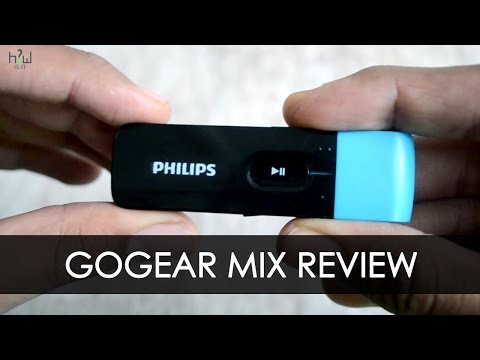 Philips GoGear MIX Mp3 player Full review | HOWISIT