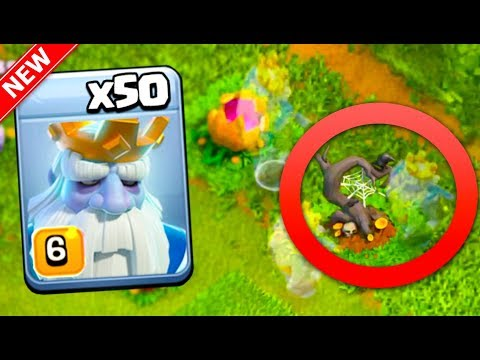 THE NEW INVISIBLE TROOP... The ROYAL GHOST + Clash Of Clans Halloween UPDATE!