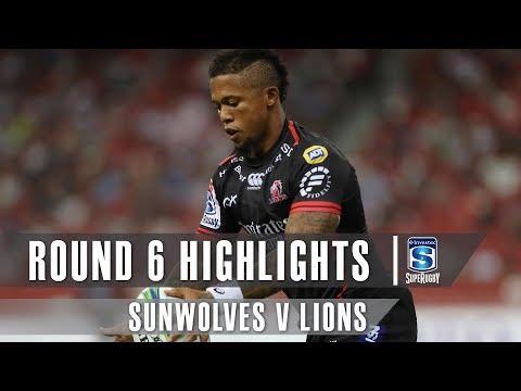 ROUND 6 HIGHLIGHTS: Sunwolves v Lions - 2019