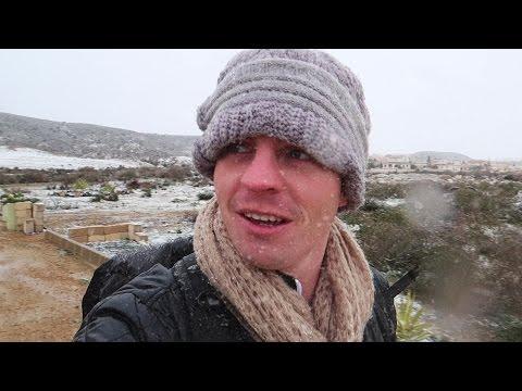 Freak Snow Storm in Southern Spain!?