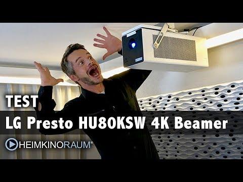 LG Presto HU80KSW CineBeam Laser 4K Beamer