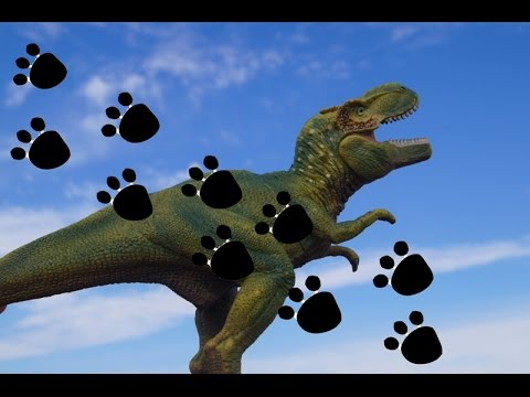 КОВАРНЫЕ СЛЕДЫ! СЛЕДОПЫТ! Мультики для детей про динозавров. Новые мультики 2017. Игрушки
