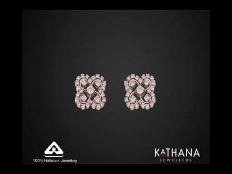 Beautiful Indian Jewellery Diamond Earrings