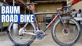 Meet the $17,000 (USD) BAUM Titanium Road Bike