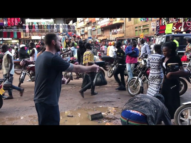 Preaching grace and the severity of God in downtown Kampala, Uganda