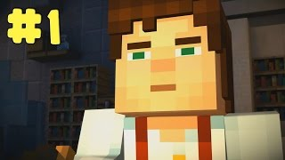 Minecraft: Story Mode - Episode 3: The Last Place You Look - Walkthrough - Part 1 (PC HD) [1080p]