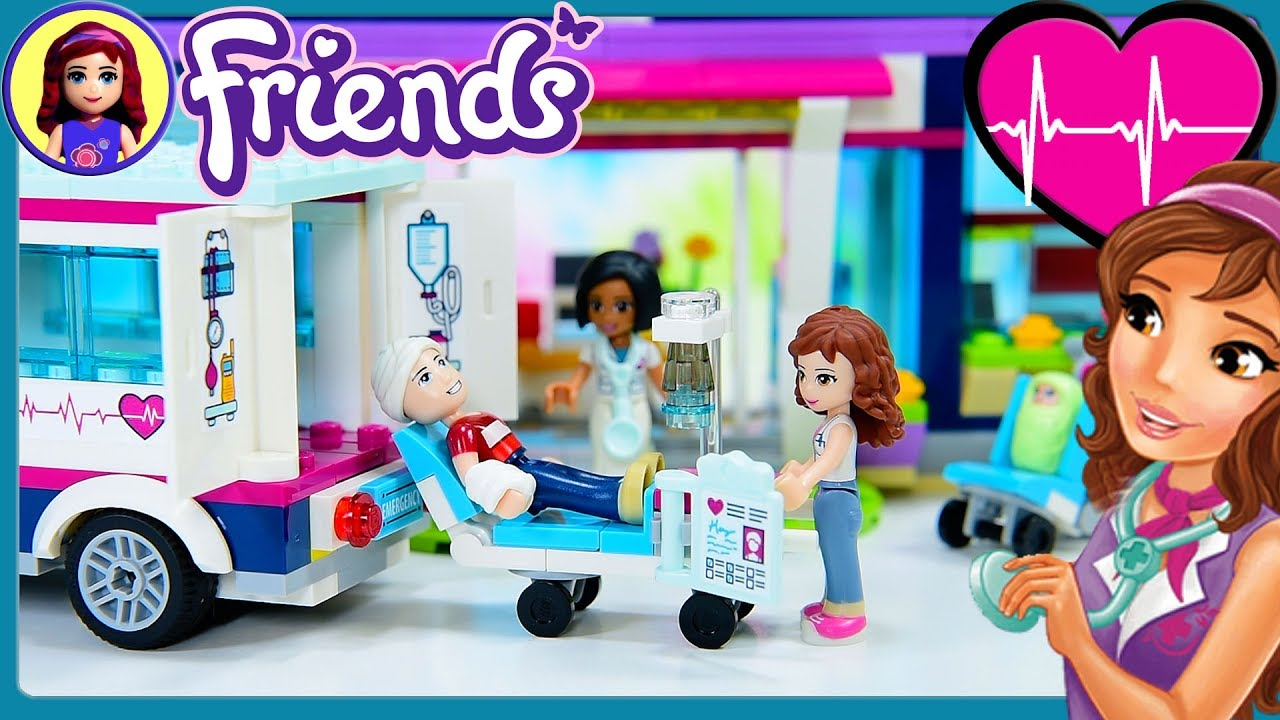 Heartlake Hospital Lego Friends Part 2 Build Review Silly Play Kids