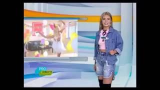 Сюжет о съемках нового клипа Алексея Воробьева Сумасшедшая 2 на песню