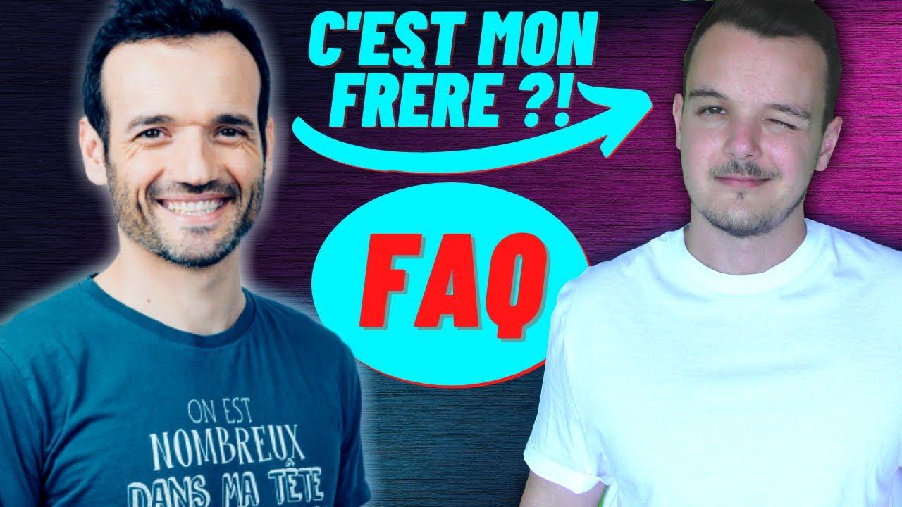FAQ + GROSSES annonces ! (suis-je le frère de Fabien Olicard ?)