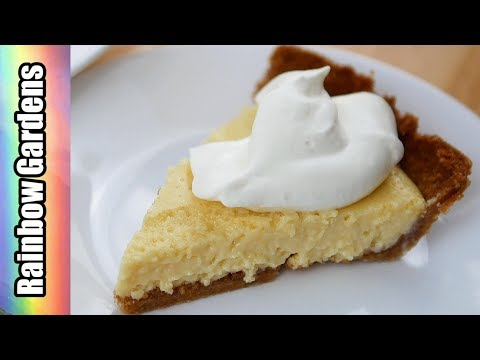 EASY & Delicious Citrus Pie! I Use Meyer Lemons, You Can Use Limes Too!