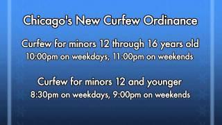 chicagos mayor on new curfew law