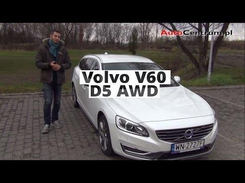 Bardzo dobra Volvo V60 D5 AWD, 2013 - test AutoCentrum.pl #017 - YouTube EC65