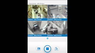 Eye On DVR mobile remote viewing cctv demo.