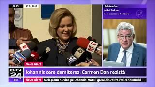 Carmen Dan ministrul care a rezistat în trei guverne deși chiar un premier i a cerut demisia