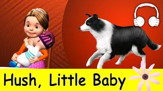 Hush, Little Baby | Family Sing Along - Muffin Songs