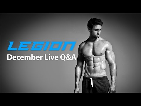 Legion Live Q&A:  How fast can you gain fat, dealing with haters, 2016 plans, and more...