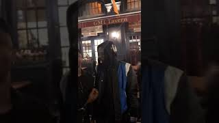 Stonebwoy meets Archipalalgo in front of a night club in New York City
