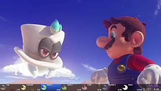 Super Mario Odyssey - World Peace Speedrun in 1:20:33 [World Record]
