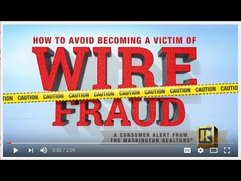 Consumer Alert: How to Avoid Wire Fraud