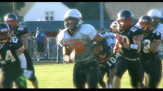 08-21-15 Delaware Hayes Football vs Marion Harding Scrimmage