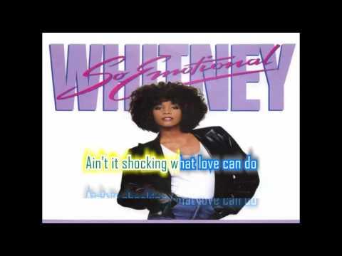 """Whitney Houston - So Emotional (7"""" single with lyrics)"""