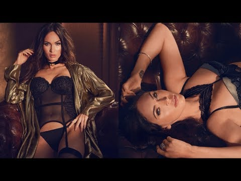Megan Fox's Fall 2017 Frederick's of Hollywood Campaign
