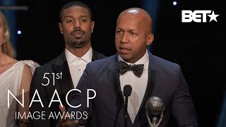 """""""Just Mercy"""" Receives The Award For Outstanding Motion Picture!   NAACP Image Awards"""