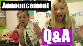 Huge announcement| Our Real Names!!| Q|