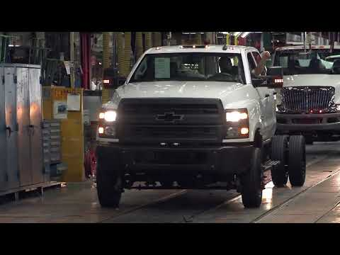 2020 Chevrolet Silverado Production Heavy Duty Trucks