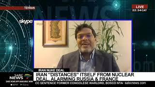 Iran nuclear crisis escalates: Professor Seyed Marandi