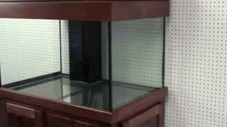Great Lakes Aquariums 85 Wide Furniture Grade Poplar Wood Aquarium Stand Package