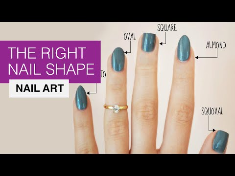 How To Choose The Right Nail Shape For Your Fingers