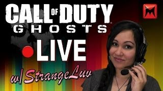 Call of Duty: Ghosts Multiplayer Livestream with StrangeLuv - LET'S DO THIS!