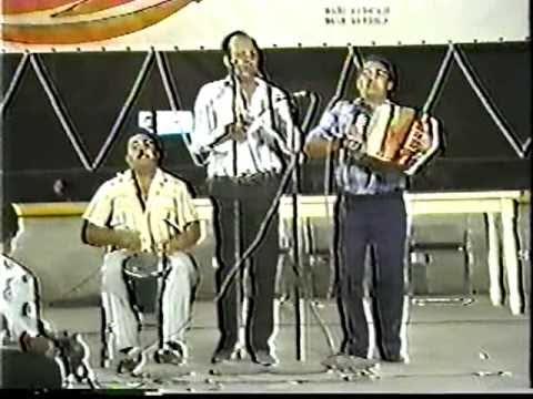 """Elberto """"El Debe"""" Lopez (Berta Caldera) Festival Vallenato Rey De Reyes 1987"""
