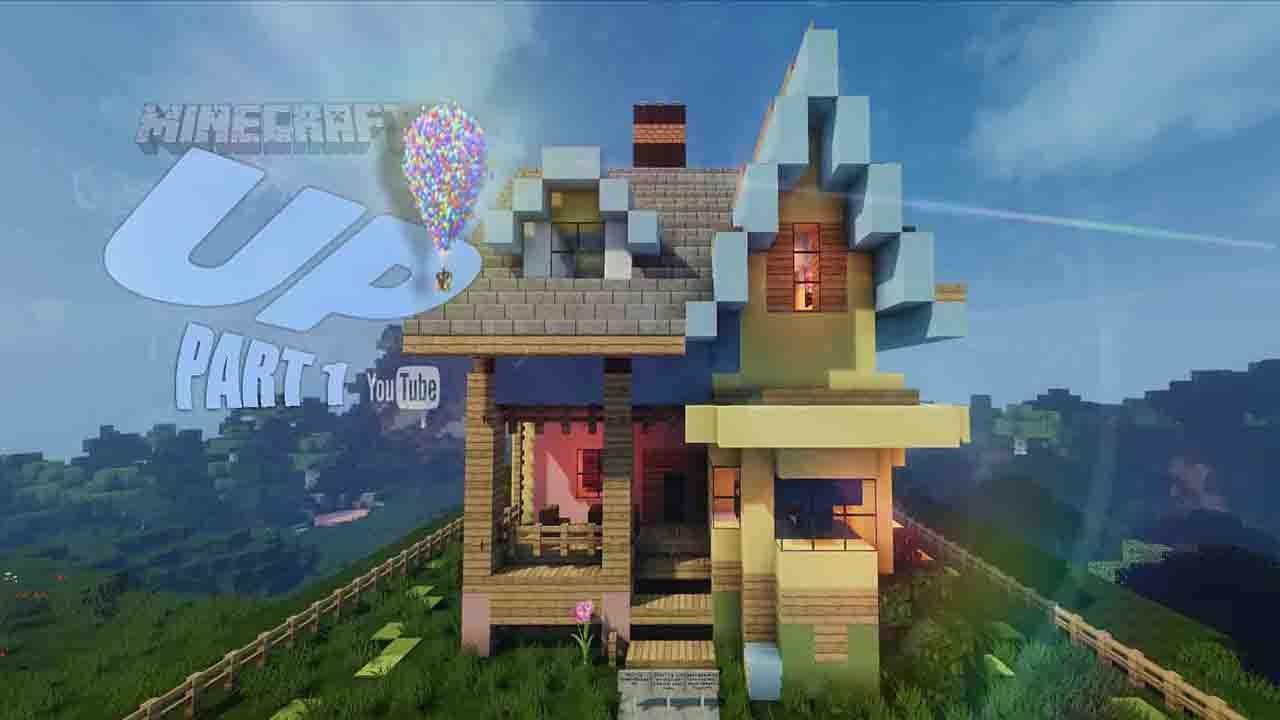✔ Minecraft: Lets Build Disney Pixar Up House