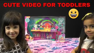 CUTE VIDEOS FOR TODDLERS, DORA & FRIENDS CAFE, DORA THE EXPLOYER